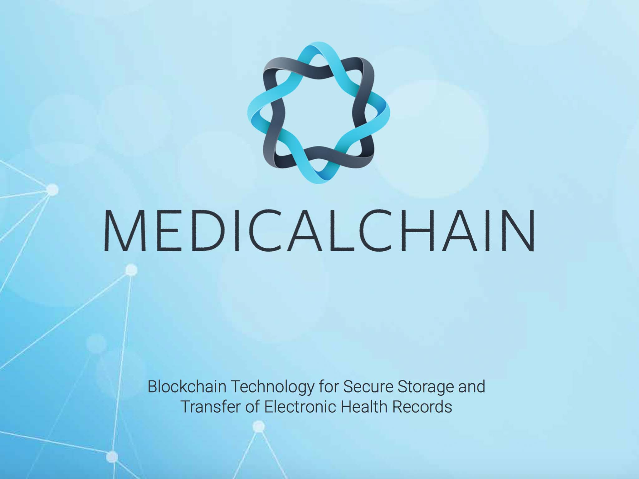MEDICALCHAIN - Blockchain solution for health care