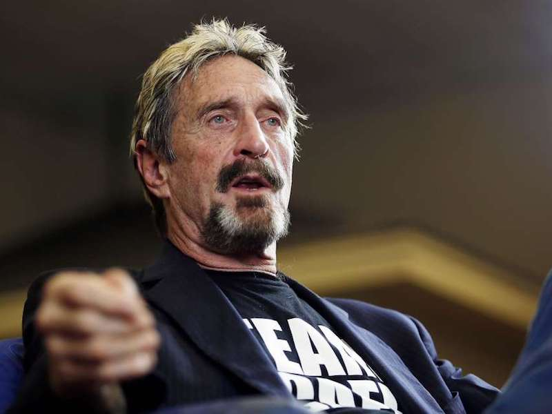 John McAfee runs for the President; what can he do for the community?