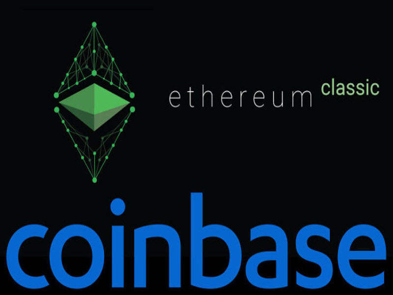 Ethereum Classic gets listed on Coinbase way before Ripple