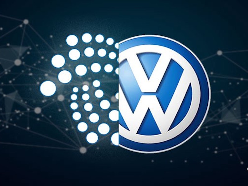 IOTA and Volkswagen are about to change the auto industry