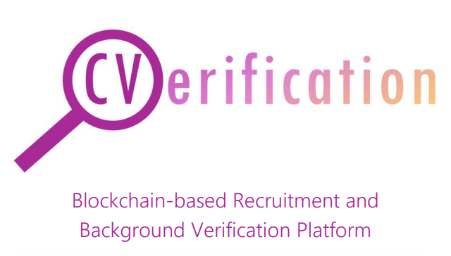 cverification, cverification ico, blockchain, recruitment, reference